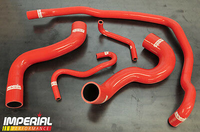 Corsa Vxr Silicone Radiator Hose Kit Z16Ler Turbo - Red