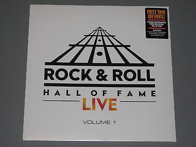 ROCK AND ROLL HALL OF FAME LIVE 180g LP New Sealed Vinyl Rock & Roll Prince