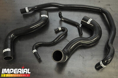 Corsa Vxr Silicone Radiator Hose Kit Z16Ler Turbo - Black