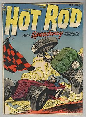 Hot Rod and speedway Comics #1 February 1952 VG-