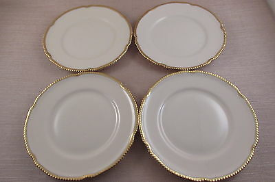 Vintage Castleton China SOVEREIGN Bread Plates - Set of Four