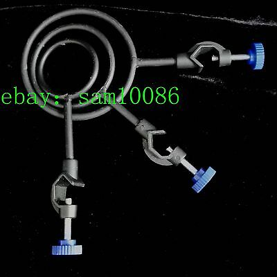 Iron Metal Support Ring Dia.50mm 65mm 85mm Lab Stand Base with Jackscrew