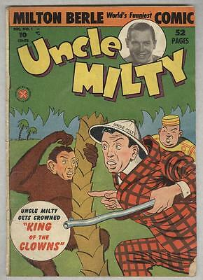 Uncle Milty #1 December 1950 G/VG First issue
