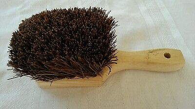 "Wood Natural Palmyra Wok Brush 8""  NEW FREE SHIPPING!"