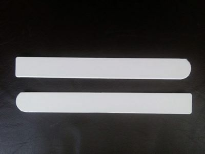 Window Board End Caps Pair Bullnose Tapered Large 300mm Long 35mm High