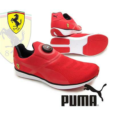 new Puma Disc SF FERRARI mens slip on trainers with wire lace up technology 2016