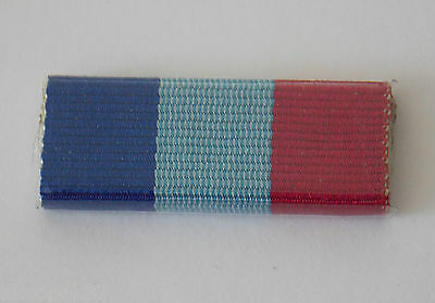 Queensland Police Service Valour Medal Ribbon Bar Plastic Covered With 2 Pins