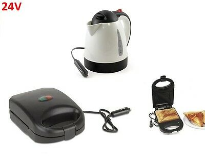 All Ride kettle Sandwich Maker 24v Truckers Lorry Truck Tractor Unit Campervan