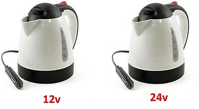 Truckers Kettle / Sandwich Maker 12V/24V Water Heater Lorry Kettle All Ride