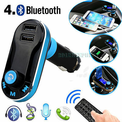 Bluetooth Car Kit MP3 Player FM Transmitter SD Charger For iPhone 5│6│Samsung S6