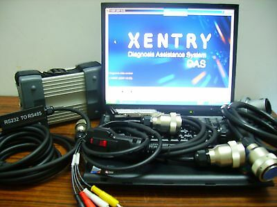 Top Quality MB Star C3 + 12/2015 version xentry das wis For Benz Trucks & Cars