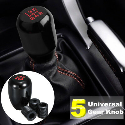 Universal 5 Speed Manual Gear Shifter Stick Auto JDM Shift Knob Lever Nob New