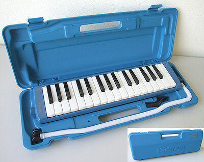 Hohner Melodica Student 32 Key Blue in case