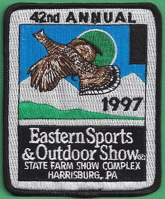 Pa Pennsylvania Game Fish Commission 1997 Eastern Sports & Outdoor Show Patch
