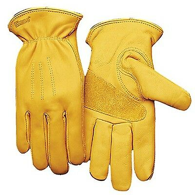 Fencing/Work Gloves KINCO 198-L Men's Unlined Premium Grain Cowhide Gloves