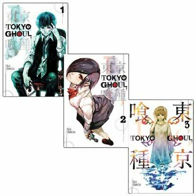 Sui Ishida Tokyo Ghoul Volume 1-3 Collection 3 Books Set Pack Anime & Manga NEW