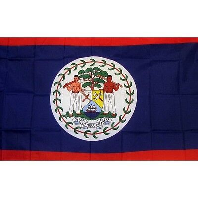 Belize 3 x 5' Banner National Flag 90cm x 150cm