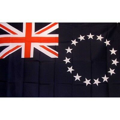 Cook Island 3 x 5' Banner National Flag 90cm x 150cm