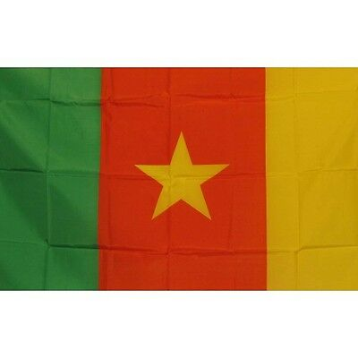 Cameroon 3 x 5' Banner National Flag 90cm x 150cm