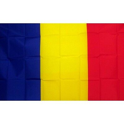 Chad 3 x 5' Banner National Flag 90cm x 150cm
