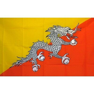 Bhutan 3 x 5' Banner National Flag 90cm x 150cm