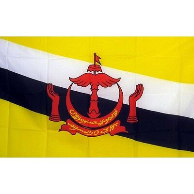 Brunei 3 x 5' Banner National Flag 90cm x 150cm