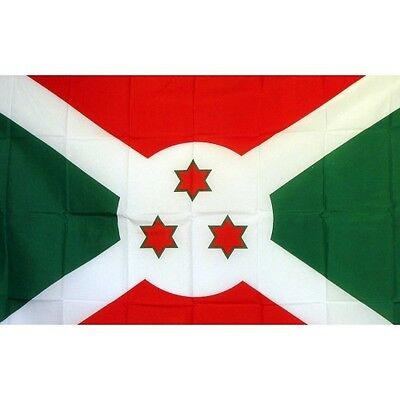 Burundi 3 x 5' Banner National Flag 90cm x 150cm