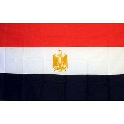 Egypt 3 x 5' Banner National Flag 90cm x 150cm