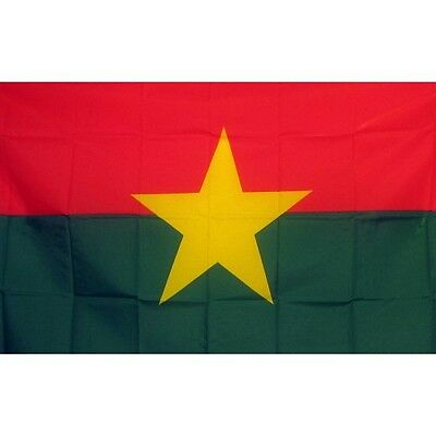 Burkina Faso 3 x 5' Banner National Flag 90cm x 150cm