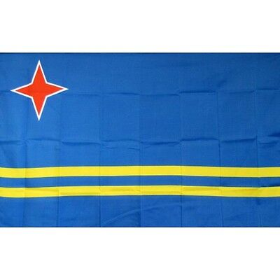 Aruba 3 x 5' Banner National Flag 90cm x 150cm