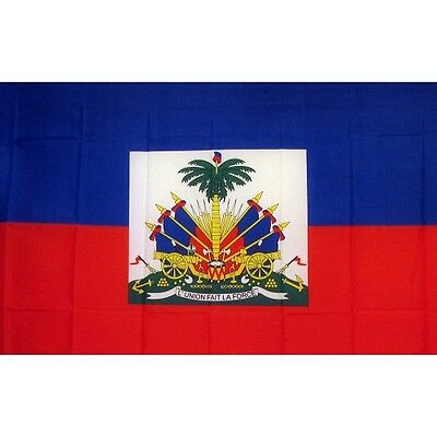 Haiti 3 x 5' Banner National Flag 90cm x 150cm