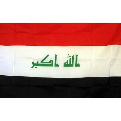 Iraq (New) 3 x 5' Banner National Flag 90cm x 150cm