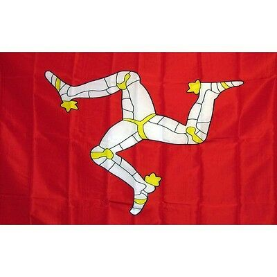 Isle Of Man 3 x 5' Banner National Flag 90cm x 150cm
