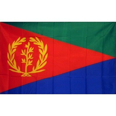 Eritrea 3 x 5' Banner National Flag 90cm x 150cm