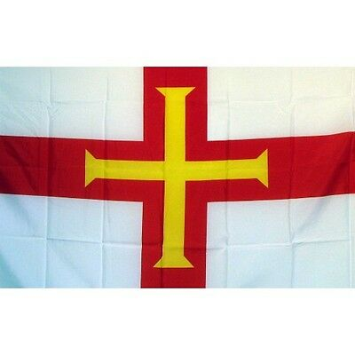 Guernsey 3 x 5' Banner National Flag 90cm x 150cm