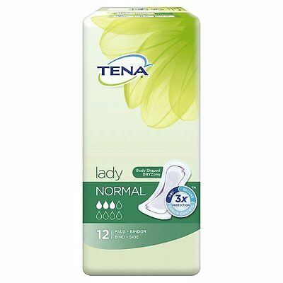 Tena Lady Normal Pads - 12