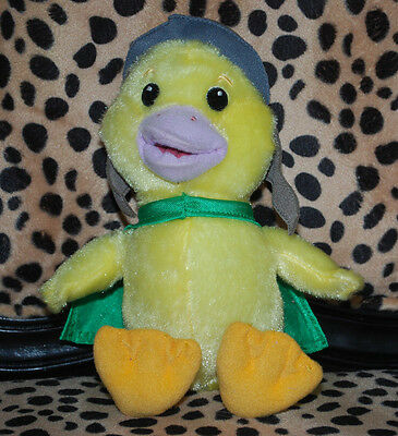 "Ming Ming Plush Duck Wonder Pets 10"" 2008 Fisher Price Stuffed Toy Doll HTF"