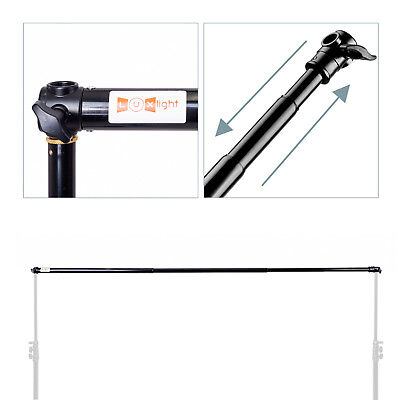 Telescopic Backdrop Support Crossbar - 2m -  Photo Studio Background Cross Pole