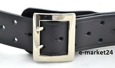 Genuine Polish Leather Nato Military Officer Army, Belt Twin Prong Double 2 Hole