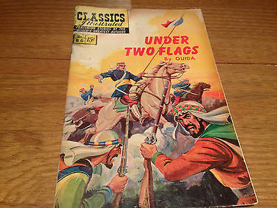 Vintage Classics Illustrated Under Two Flags by Ouida Comic No 86