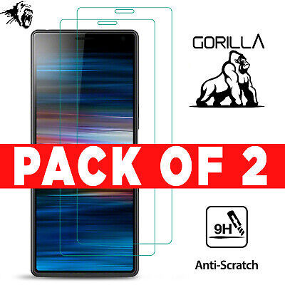Tempered Glass Screen Protector Guard Mobile Phone Case For Sony Xperia Experia