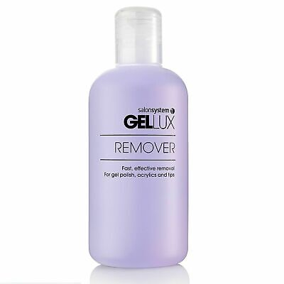 Gellux UV LED Gel Nail Polish Remover Acetone 250ml - Remove Gels and Acrylics