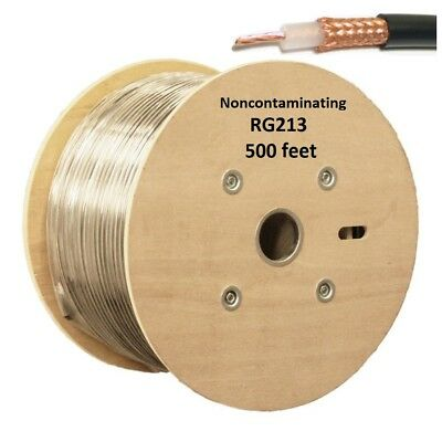Coax Cable Low Loss Double Shield RG213U 75/' Non-contaminating BR213DS