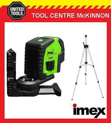 Imex Lx22Gs Green Beam Crossline Laser Level Set With Tripod – 2 Year Warranty