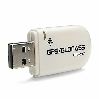 Ublox Gmouse Glonass GPS USB Receiver Locator Windows 10/8/7/vista Google Earth