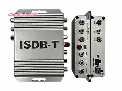 ISDBT Car Digital TV Box T510B car TV Receiver for South America and Japan etc.