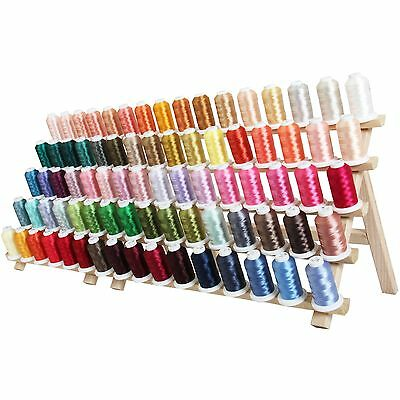 Machine Embroidery Thread - New 80 Color Polyester Set C&d - Brother Size Spool