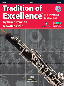 Tradition of Excellence Book 1 Oboe Pearson W61OB NEW