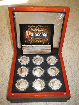 Pinocchio Limited Edition coins