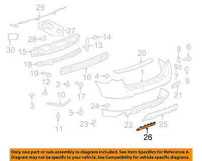Chevrolet GM OEM 10-16 Equinox Rear Door-Rear Weatherstrip Seal Left 20998458